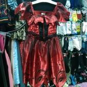 Платье карнавальное,3-4года,рост 104см