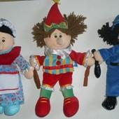 Кукольный театр, полицейский, мать,шут,Fiesta Crafts