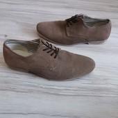 Замшевые туфли АМ 41р.