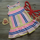 Платье в полоску сарафан F&F (12-18 мес)
