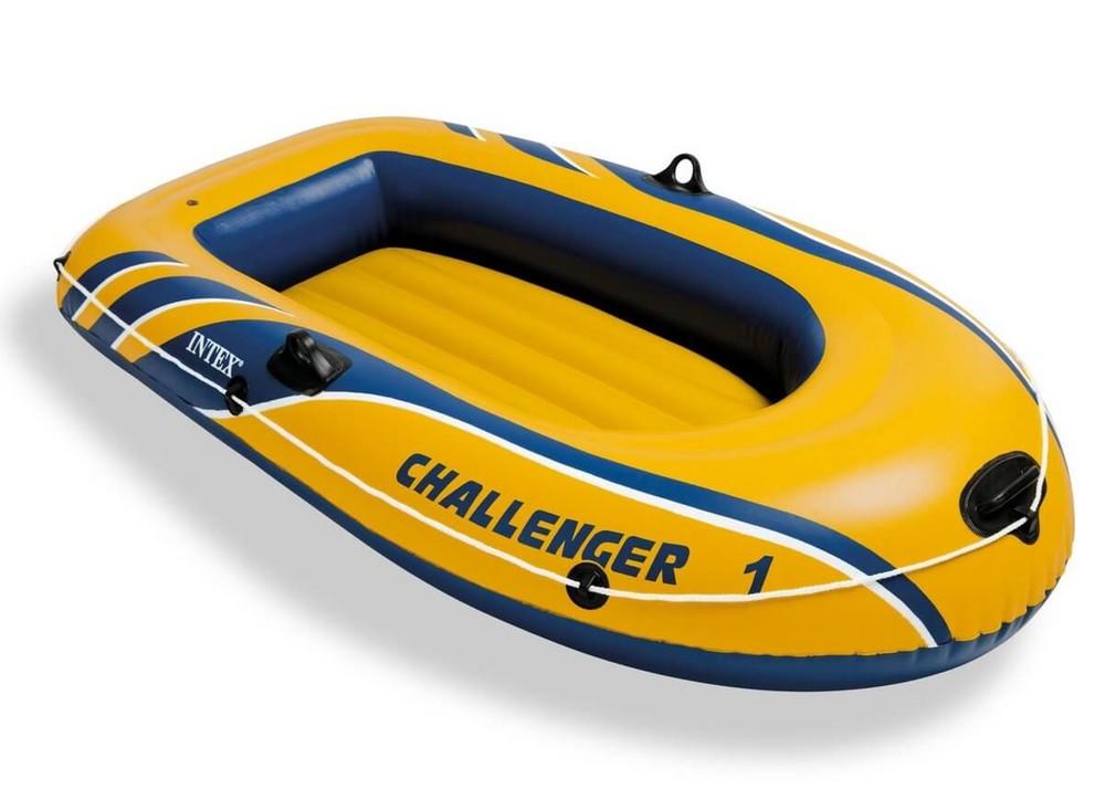 Лодка одместная надувная challenger 1 intex 68365 фото №1