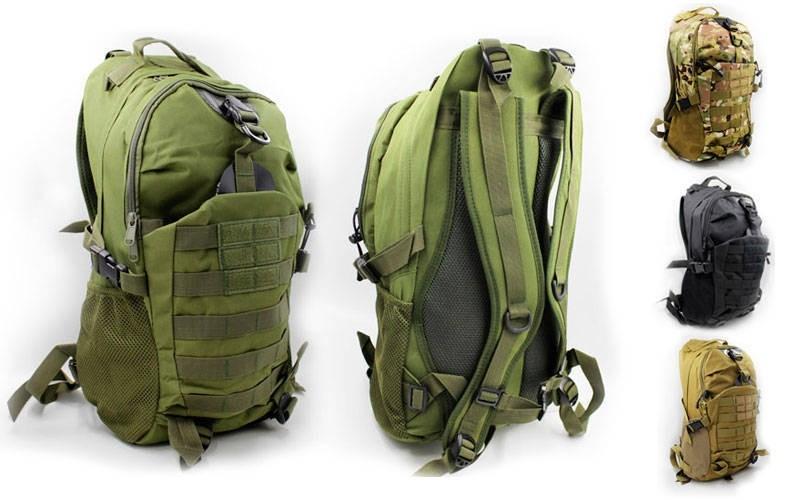 Рюкзак тактический штурмовой трехдневный ty-036: объем 35л, размер 50х32х19см (3 цвета) фото №1