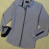 Рубашка в мелкую полоску  F&F, Р.17