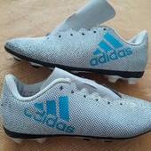 Бутсы копочки фирменные Adidas р.31-19см
