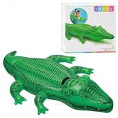 Надувной плотик Крокодил , Intex 58546