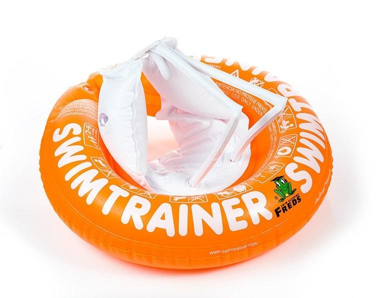 Надувной круг Swimtrainer оранжевый фото №1