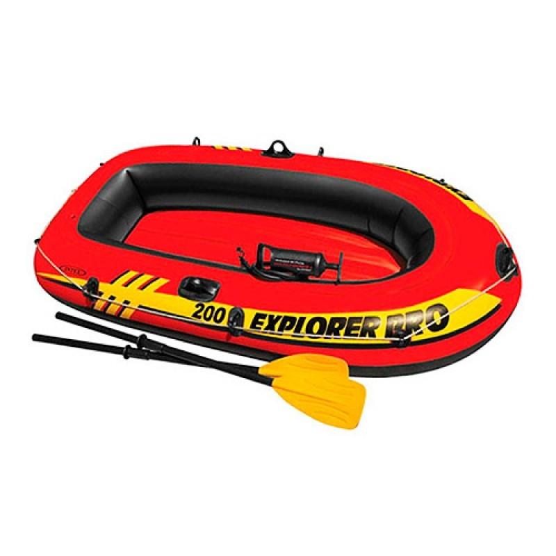 Лодка на 1 взрослого+ребенок, весла, насос фото №1