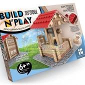 Конструктор нового поколения Buildnplay Колодец из сруба, вращение, 6+