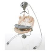 Музыкальный центр колыбель качель шезлонг с электроприводом Bambi SG301 (р/у, моск.сетка, 5 скор.)