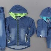 Костюм - двойка под джинс для мальчиков F&D Венгрия. Качество