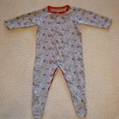 Человечек хлопковый на 9-12 месяцев TU