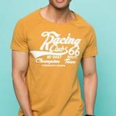 2-44 Мужская футболка DeFacto одежда Турция чоловіча футболка майка мужская одежда