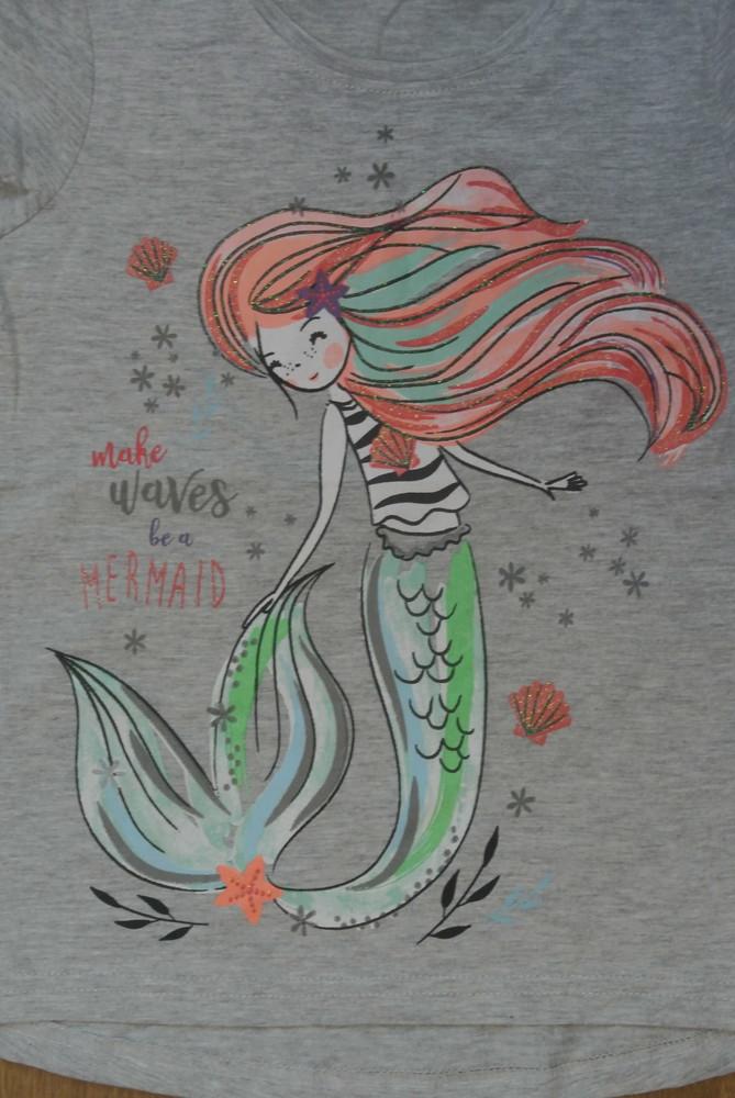 18-5 футболка pepco 7-8 лет рост 128 футболка для девочки дитячий одяг фото №3