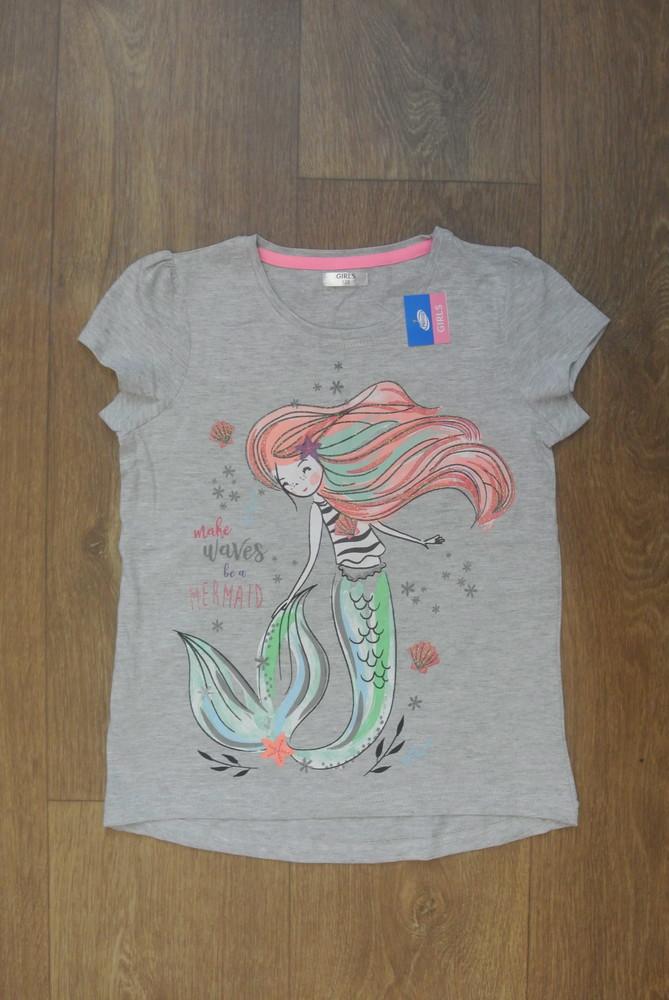 18-5 футболка pepco 7-8 лет рост 128 футболка для девочки дитячий одяг фото №1