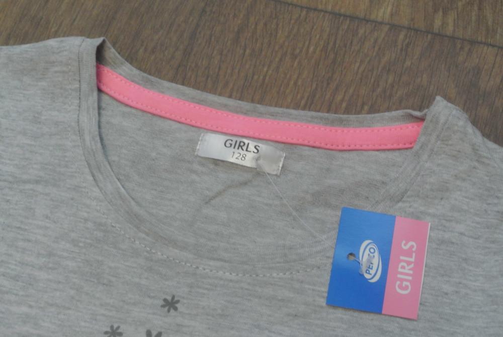 18-5 футболка pepco 7-8 лет рост 128 футболка для девочки дитячий одяг фото №2