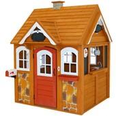 Kidkraft Детский деревянный домик со звонком и кухней stoneycreek cedar outdoor playhouse 00401 cott