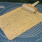 Фигурный роликовый резак для пирогов и другой выпечки. Роликовый нож - Сетка