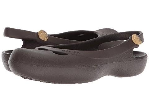 Балетки crocs jayna slingback flat, w8 фото №1