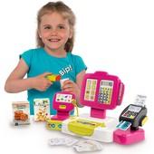 Детская электронная касса Smoby 350108 со сканером