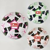 Мяч футбольный F 21963 3 цвета, 410-420 грамм, материал PU