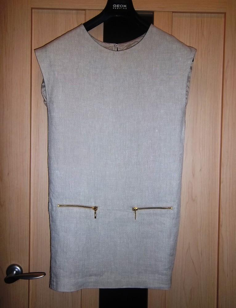 Льняное платье mango размер xs фото №1