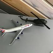 Самолет вертолет модели металл