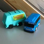 МашинкаТайо и автобус скуби ду