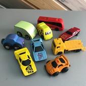 Машинки модельки гоночные спец техника