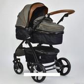 Универсальная коляска-трансформер 2в1 Joy 8681 gray