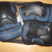Новый комплект - защита - наколенники, налокотники, напульсники, на 8-12лет