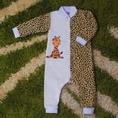 Комбинезон человечек Жираф, новый, 74