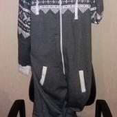 Новый слип пижама домашний комбез размер xl