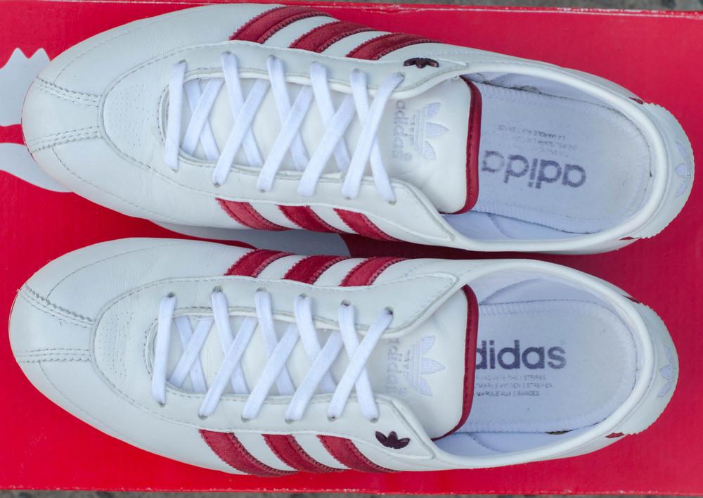 Síguenos Sede poco  Кожаные кроссовки adidas okapi 2 оригинал 37-38р. 24,2 см., цена 550 грн -  купить Спортивная обувь бу - Клумба