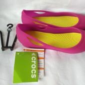 Женские кроксы crocs р. W7 стелька 24,5 см