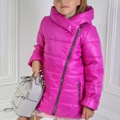 Куртка демисезонная для девочки на рост 122,128,134,140