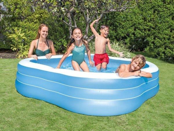 Семейный надувной бассейн intex 57495 фото №1