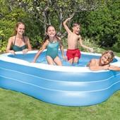 Семейный надувной бассейн Intex 57495