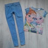 8-10 лет Комплект джинсы и футболка