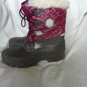 Lupilu, сноубутсы 38р-24,5-25см,теплые, не промокают, для снега и слякоти