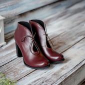 Ботинки из натуральной кожи/замши21766