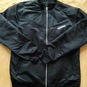 Фирменная куртка без утеплителя Adidas р.46-48 M