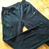 Тёплые спортивные штаны фирменные Nike р.50-52 длина 110см.