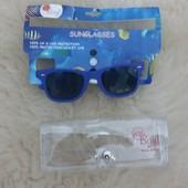 Качественные детские очки + чехол, новые