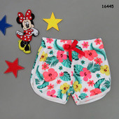 Летние шорты для девочки