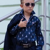 Новинка!!! Детская рубашка. Размеры:116- 152