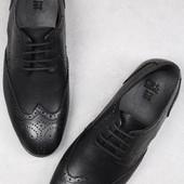Классические мужские туфли - оксфорды BFG Moda.shoes- 007. фирменная Турция