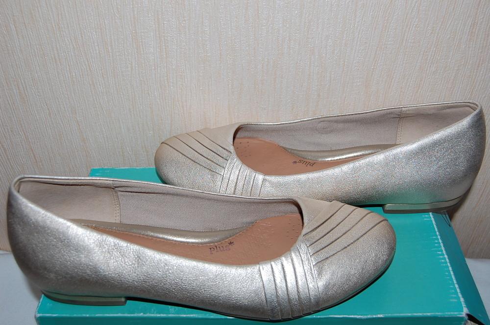 Распродажа. новые кожаные туфли clarks р. 39 оригинал фото №1