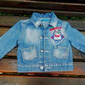 Джинсовый пиджак.Состояние идеальное