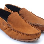 мокасины мужские - Polo Style коричневые BFG Moda.shoes- 031. фирменная турция