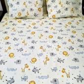 Подарочный набор в детскую кроватку! Теплая детская расцветка!